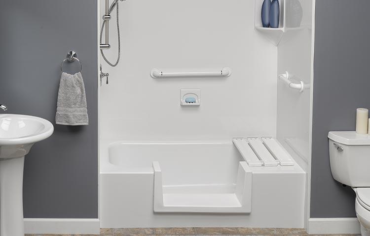 Step Thru Inserts | Step In Bath Tub | Step In Tub | Bath Planet