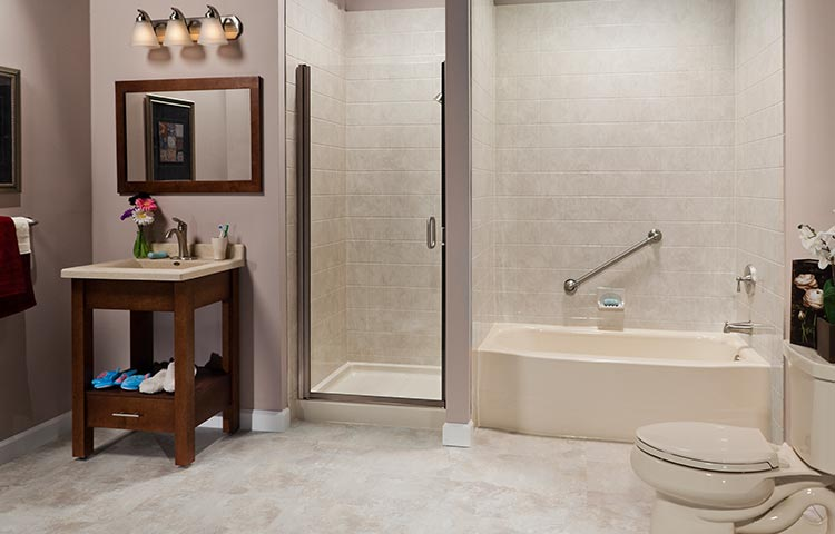 Master Bath Remodel One Day Large Bathroom Remodeling Bath Planet Cool Bath Remodeler Exterior